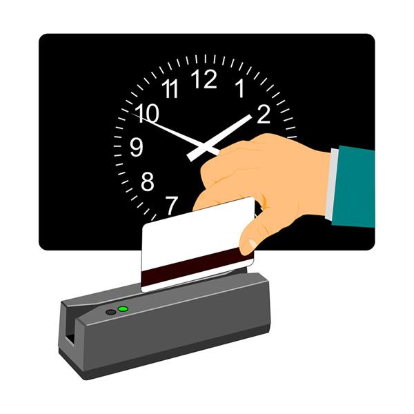 タイムカードに代わる勤怠管理システム